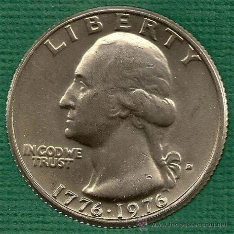 cuanto vale un dolar en moneda de 1976 1776 mexico 1 1976 d quarter dollar bicentenario 1776 1976 comprar