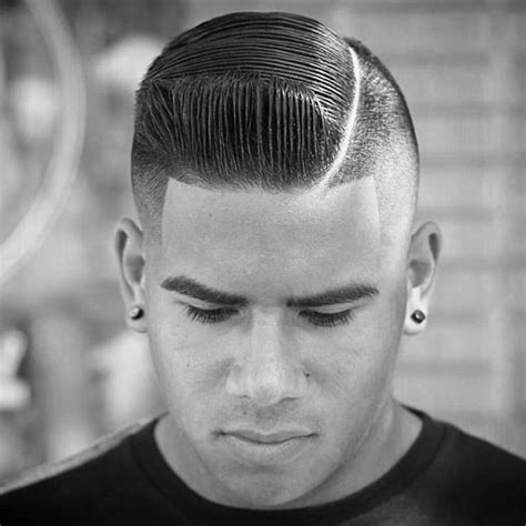 can you do a combover with wavy hair comb over fade haircut for men 40 masculine hairstyles