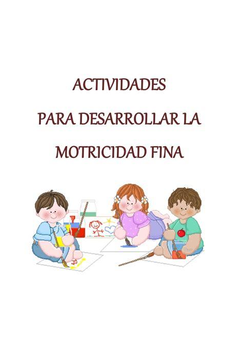 libro 365 actividades para desarrollar actividades para desarrollar la motricidad fina