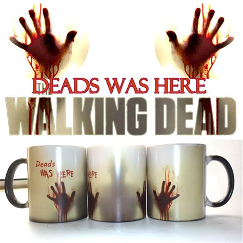 Aliexpress.com : Buy The Walking Dead Mugs Coffee Tea Milk cup Hot Cold Heat Sensitive Color