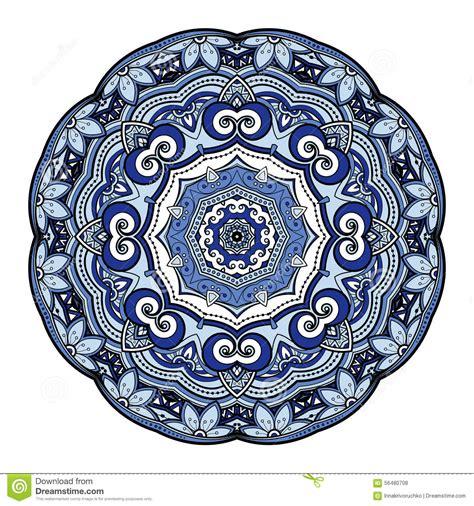 vector beautiful deco colored mandala stock vector image