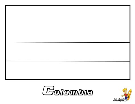 colombia map coloring page colombia flag free coloring pages