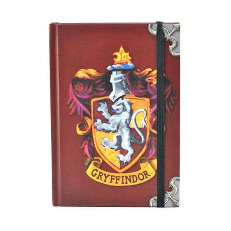 harry potter gryffindor ruled notebook books harry potter gryffindor a6 notebook journal pad book lined