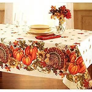 thanksgiving tablecloths amazon com tp pt84n8 plymouth turkey set 84 x 60