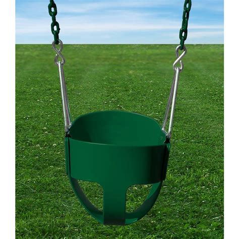 bucket swing home depot full bucket baby swing set with chain toy for infant