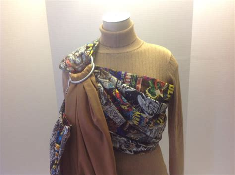Mimi Ring Sling Motif items similar to marvel comics with solid pattern baby