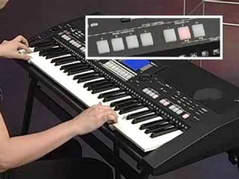 Keyboard Yamaha Psr S550 Second yamaha psr s550 keyboard demonstration