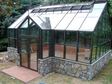 Build A Kitchen Cabinet by Custom Glass Greenhouse Traditional Garage And Shed
