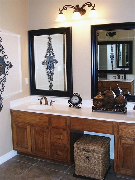 bathroom vanity mirrors double doherty house simple but chic bathroom vanity mirrors