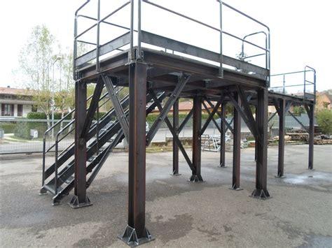 travi a traliccio carpenteria passerelle tettoie soppalchi