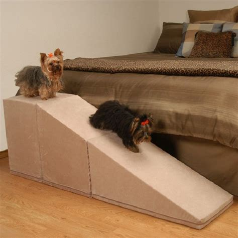 doggie steps for high beds homemade dog r for bed puppies pinterest dog r