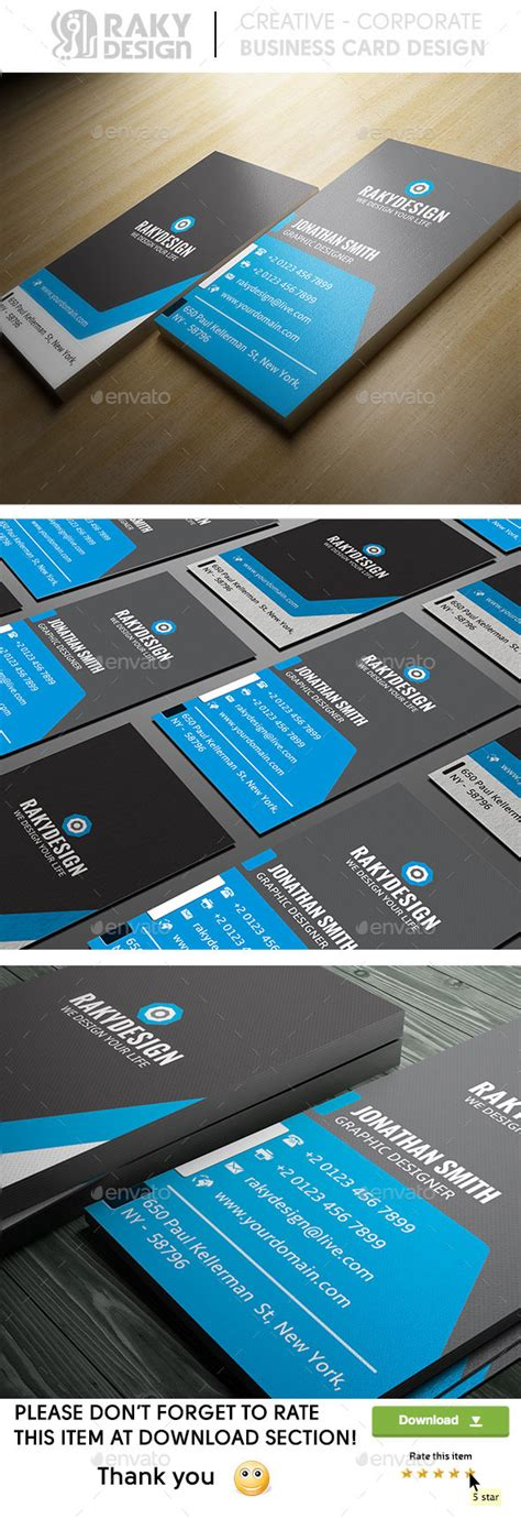 print template graphicriver corporate business print template graphicriver blue corporate business card 8946160 187 dondrup