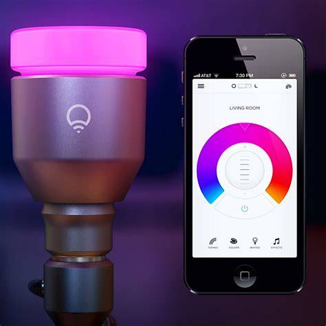 wi fi led light bulbs gateway to the smart home mit the lifx light bulb is wifi enabled multi coloured and