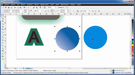 youtube tutorial corel draw x4 tutorial no 4 coreldraw x4 efectos basicos jucateve