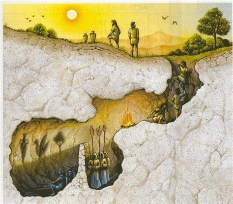 platon la alegoria de la caverna el mito de la caverna plat 243 n taringa
