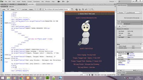 tutorial web menggunakan dreamweaver tutorial membuat web design menggunakan dreamweaver cs6