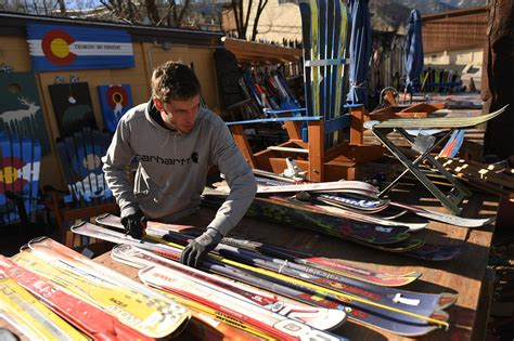 colorado west upholstery glenwood springs at colorado ski chairs one person s trashed skis are