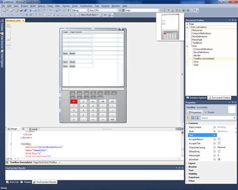 grid layout visual studio 2010 visual studio 2010 and net framework 4 release candidates