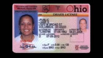 Ohio Drivers License Template by Pin Ohio Drivers License Template On
