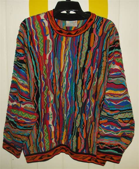 euc mens m vintage coogi australia mercerised cotton