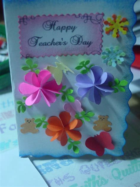 Teachers Day Handmade Greeting Cards - 17 best images about teachers day card on