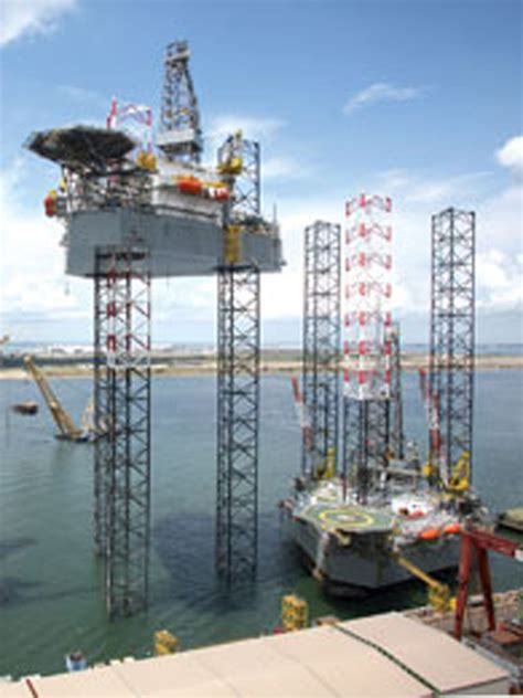 Rack And Pinion Drilling Rig by Keppel Fels Record 21 Rigs Delivered In 2013 Drilling