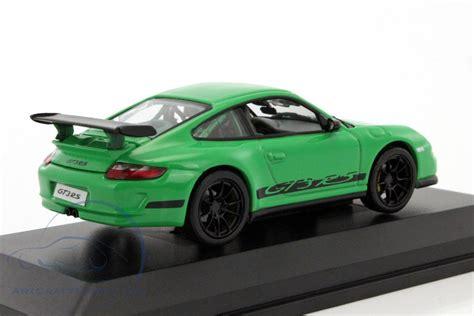 Diecast Porsche Gt3 Rs porsche 911 997 gt3 rs green black lucky diecast