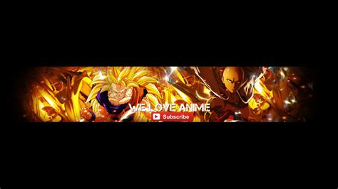 anime youtube banner by scarletsnowx on deviantart