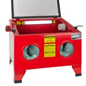 cabine de sablage sableuse 90 litres equipement atelier