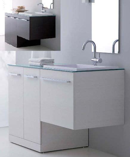 arredo bagno con lavatrice arredo bagno mobile vip con coprilavatrice portalavatrice