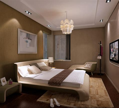 Bedroom Overhead Lighting Ideas Interior Designs Sleek Small Bedroom With Unique Curved Bed Decorating Hanging L