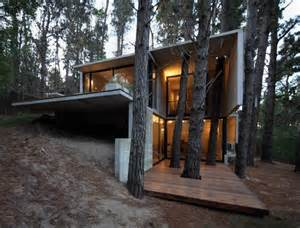 Victorian Credenza Modern Concrete House In The Midst Of Trees Franz House