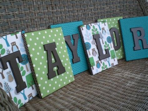 fabric covered wooden letters 1000 ideas about fabric covered letters on