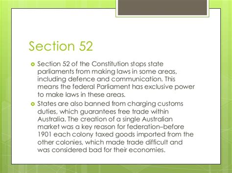 section 51 constitution 4 1 the constitution