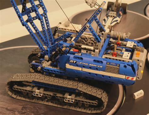 Lego Crawler Crane 42042 42042 crawler crane general discussion lego technic