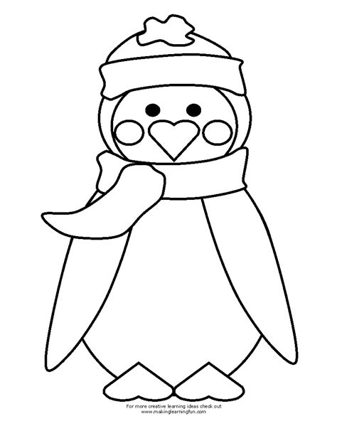 blank penguin coloring page penguin printable template search results calendar 2015