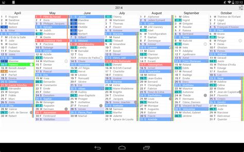 Kalender Dinding 1 2 Sisi Color 2 the calendar pro android apps op play