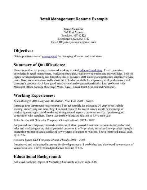 resume summary statement sles resume objective statement for sales resume