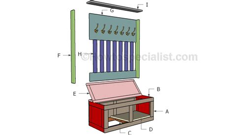 how to make mudroom bench how to build a mudroom bench howtospecialist how to build step by step diy plans