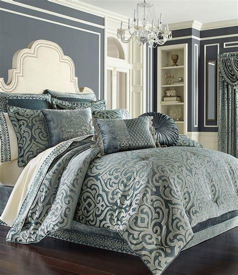 Wool Duvets Sale J Queen New York Sicily Puffed Damask Comforter Set