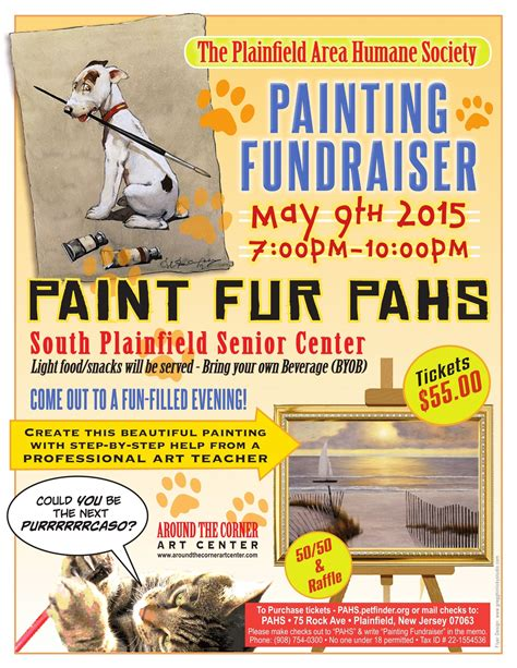 Fundraising Letter Humane Society The Plainfield Area Humane Society To Hold A Painting Fundraiser News Tapinto