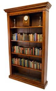 antique library shelves open bookcase library shelves antique satin wood