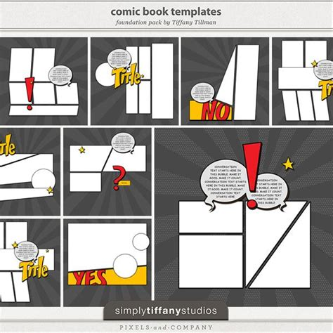 blogger templates for web comics 34 best images about superhero scrapbooking supplies on