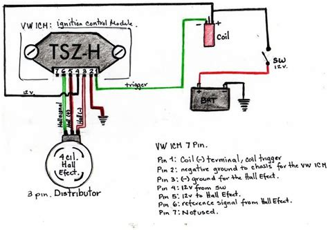 wiring ignition module and effect sensor help