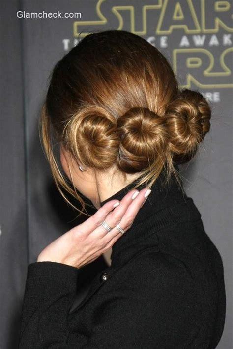 Princess Leia Hairstyles by Menounos S Princess Leia Inspired Hairstyle