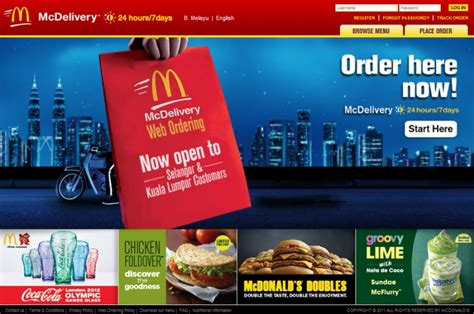 Mcdonald S Corporate Office Phone Number by Mcdelivery Is Now Mconline Hype Malaysia