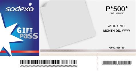 Sodexo Gift Card - sodexo gift pass for business philippines