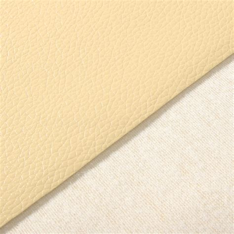 Interior Upholstery Fabric Pu Leather Fabric Solid Color Car Interior Upholstery Home