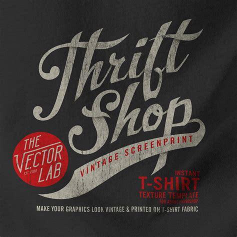 Bestseller T Shirt Plastisol Adk Murah 1 thrift shop vintage t shirt texture template thevectorlab