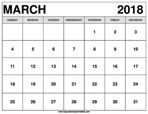 Calendar 2018 March School March 2018 Calendar